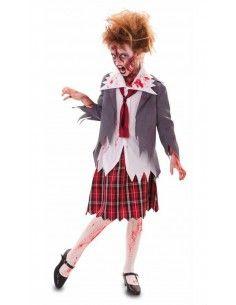 Disfraz de Colegiala Zombie...