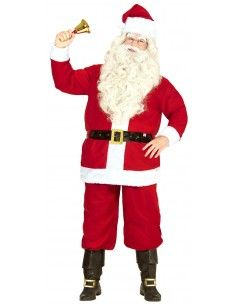 Disfraz de Papá Noel rojo...
