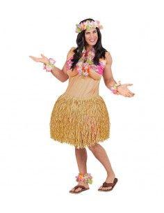 Disfraz de Belleza Hawaiana...