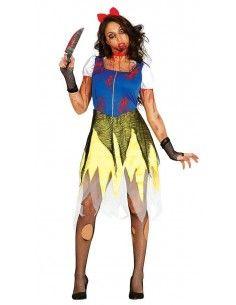 Disfraz de Princesa Zombie...