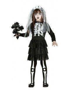 Disfraz de Novia Esqueleto...