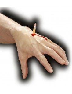 Herida perforación lápiz