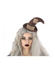 Diadema con Sombrero de Bruja