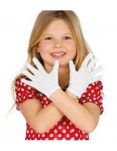 Guantes blancos infantiles