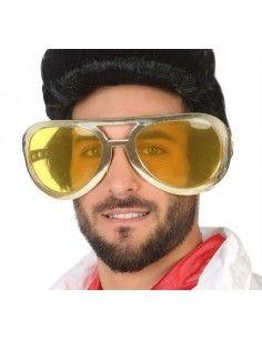 Gafas grandes de Elvis