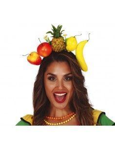 Diadema tropical de frutas