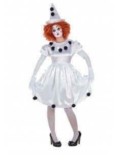 Disfraz de Payasita Pierrot...