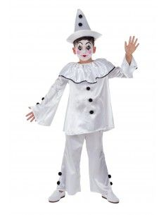 Disfraz de Payaso Pierrot...