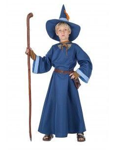 Disfraz de Mago azul para...