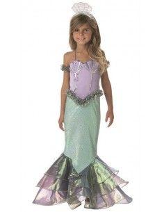Disfraz de Sirena de Coral...